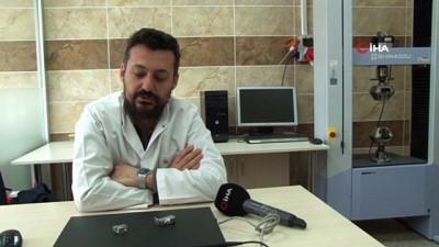 Atatürk Üniversitesi'nde 'Karbür takviyeli, metal matrisli, kompotit malzeme' üretildi