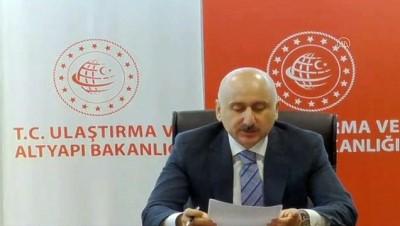Bakan Karaismailoğlu, dijital ortamda düzenlenen Kamu Bilişim Dijital Zirvesi'nde konuştu - ANKARA