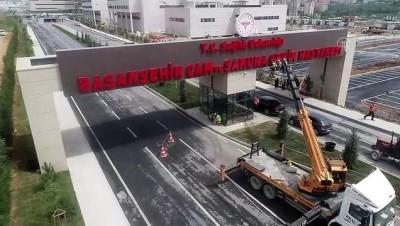 Başakşehir Çam ve Sakura Şehir Hastanesi yarın açılıyor - Drone - İSTANBUL