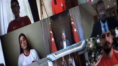 genclik merkezi - Cumhurbaşkanı Erdoğan'ın sözleri görme engelli genci cesaretlendirdi - ANTALYA