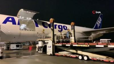 argo -  - Japon hava yolu şirketi Wuhan uçuşlarına başladı - Kargo uçağı Japonya'ya indi