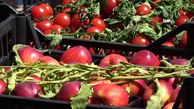 calisma saatleri -  Kısıtlama sonrası sebze ve meyve halinde yoğunluk