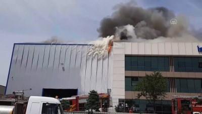 medikal - Medikal fabrikasından yangın (1) - ANKARA
