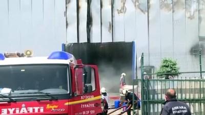 medikal - Medikal fabrikasından yangın (2) - ANKARA