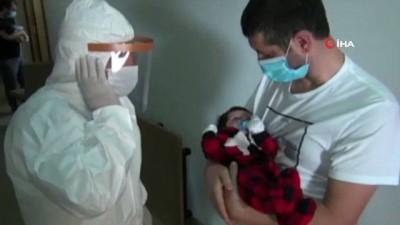 bebek -   ABD'de doğdular, ezanları kulaklarına Trabzon'da okundu