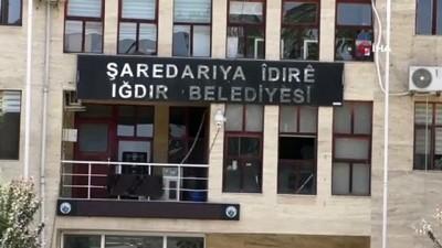 Iğdır Belediyesi'ndeki kasada 300 bin TL kayıt dışı para bulundu