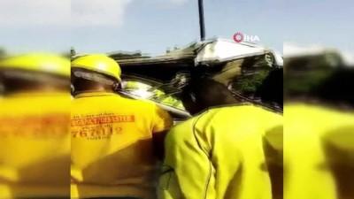 - Nijerya'da akaryakıt tankeri ile otobüs çarpıştı: 1 ölü, 7 yaralı