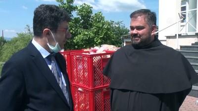gida yardimi - TİKA'dan Hırvatistan'daki ihtiyaç sahiplerine gıda yardımı - ZAGREB
