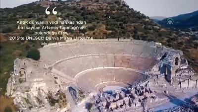 Evde Bayram Konserleri kapsamında Yusuf Güney, Efes Antik Kentinde sahne aldı - İZMİR