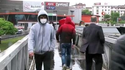 yagisli hava -  İstanbul'da yağmur trafiği olumsuz etkiledi