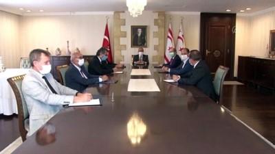 siyasi partiler - KKTC Cumhurbaşkanı Akıncı: 'Halkın gündeminde seçimler değil sağlık ve ekonomi bulunuyor' - LEFKOŞA