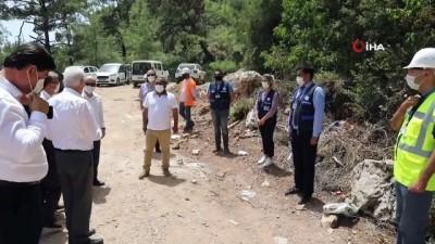 Ölüdeniz'deki tesislerin su sıkıntısı gideriliyor