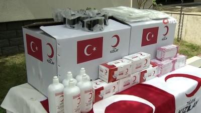 Türk Kızılay'dan Dağıstan'a 1 tır yardım malzemesi gönderildi