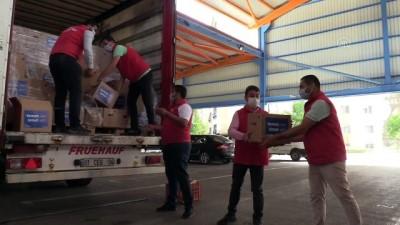 gida yardimi - Vefa Sosyal Destek Grubundan 7 bin 500 aileye bayram yardımı - ADANA