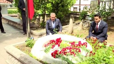 bassagligi - BBP Genel Başkanı Destici, Muhsin Yazıcıoğlu'nun kabrini ziyaret etti - ANKARA