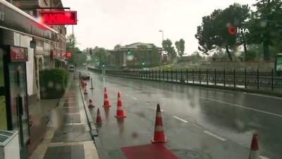 hava sicakliklari -   İstanbul Anadolu Yakası'nda yoğun yağış etkili oldu