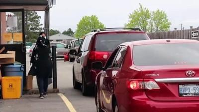 Kanada'da mobil iftar - HAMİLTON