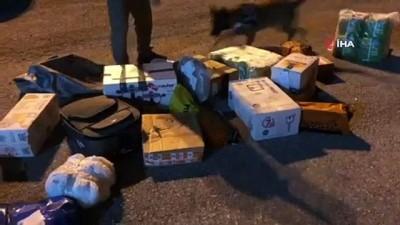 argo -  Kargo aracındaki valizden 34 bin uyuşturucu hap çıktı