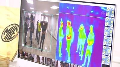 solunum cihazi - MKEK'den Kovid-19 salgınına termal kameralı takip - ANKARA