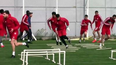 Sivasspor'da hazırlıklar sürüyor - SİVAS
