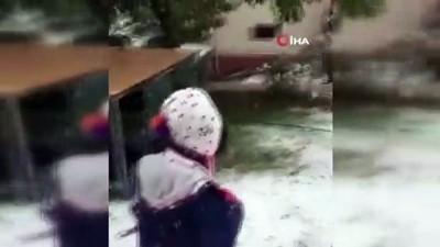 hava sicakliklari -  Mayıs'ta kar topu oynadılar