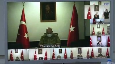 bassagligi - Milli Savunma Bakanı Akar ve TSK'nin komuta kademesinden sınır hattında bayram - HATAY
