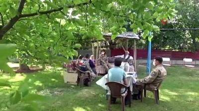 kalp krizi -  Vefa Grubu, Mehmetçik'ten şehit ailelerine ziyaret