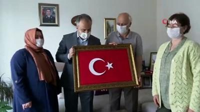 bassagligi -  Bursa Büyükşehir Belediye Başkanı Alinur Aktaş'tan şehit ailelerine ziyaret