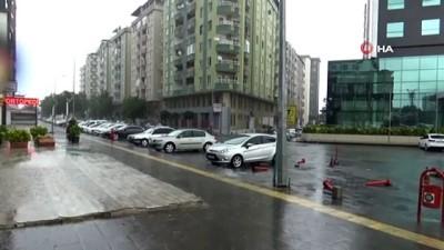 saganak yagis -   Diyarbakır'da şiddetli yağış