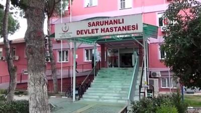 ambulans soforu -  Saruhanlı Devlet Hastanesi'nin poliklinikleri Covid-19 nedeniyle kapatıldı