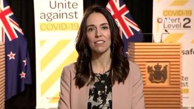 parlamento -  - Yeni Zelanda Başbakanı Ardern, canlı yayında depreme yakalandı
