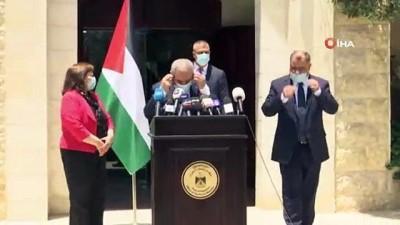 - Filistin'de karantina kaldırıldı