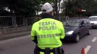 para cezasi -  Sokağa çıkma kısıtlamasından muaf olmaları sürücülerin cezadan kaçmalarına yetmedi