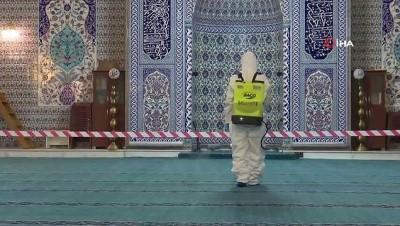 dezenfeksiyon -  Bursa'da selâtin camiler cumaya hazır