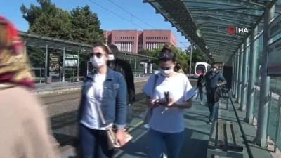 cagri merkezi -  Korona günlerinde tramvay yolcu sayıları yüzde 87 azaldı
