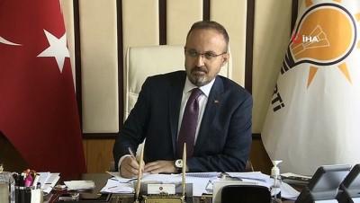 AK Parti Grup Başkanvekili Bülent Turan gündemi değerlendirdi
