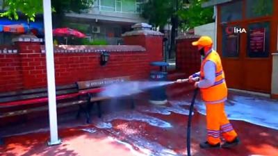 dezenfeksiyon -  Avcılar'da camiler cuma namazına hazır