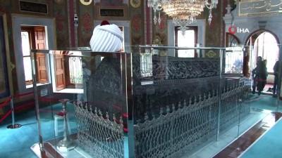 dezenfeksiyon -  Fatih Sultan Mehmed'in türbesi dezenfekte edildi