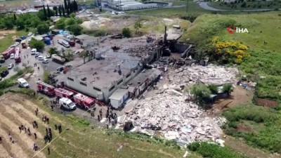 tekstil fabrikasi -  Başakşehir'de fabrikanın kazan dairesinde patlama: 2 ölü