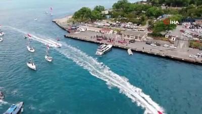 milli sporcu -  Gençlik ve Spor Bakanı Kasapoğlu, Türk bayraklı tekneleri selamladı