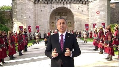 İstanbul Valiliği, İstanbul'un fethinin 567. yılını Topkapı Sarayı'nda kutladı