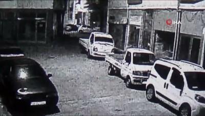 kamera -  Magandaların sokak ortasında ateş açtığı anlar kamerada