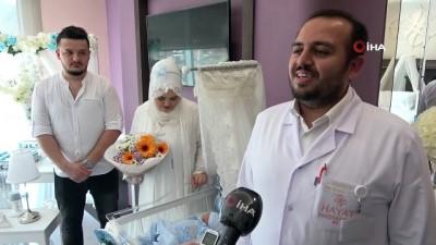 bebek -  Özel Hayat Hastanesi'nde 5 bin 555'inci doğum