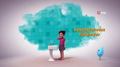 aliskanlik -  Özge Özpirinçci, çocuklara su tasarrufunun önemini animasyon ile anlattı
