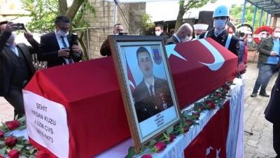 askeri toren -  Şehit Hasan Kuzu, son yolculuğuna uğurlandı