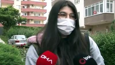 polis imdat -  Üniversiteli genç kızın online tez ödevi için seferberlik