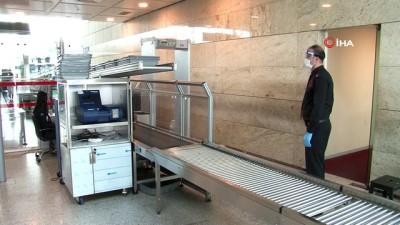 caga -  Esenboğa Havalimanı salgın sonrası ilk iç hat uçuşunu karşılayacak