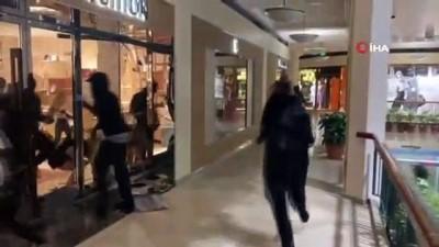 - Gösteriler Portland'a sıçradı - Lüks mağazalar yağmalandı