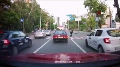 kamera -  - Ukrayna'da yaya son anda ölümden döndü