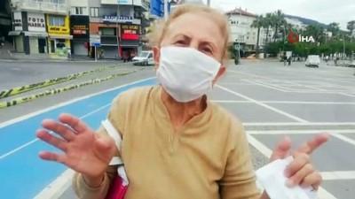 supermarket -  Marmaris'te yaşlılar kendilerine verilen sürenin tadını çıkardı